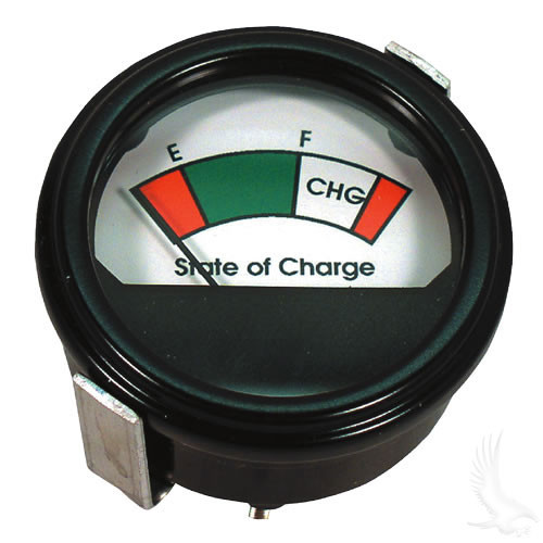 Universal State of Charge Meter, 36V Round Analog