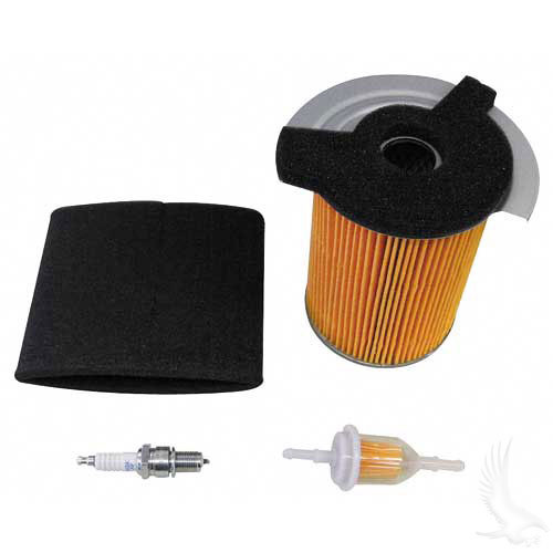 Tune Up Kit, Yamaha G14 4-cycle Gas spark plug air filter gas line filter