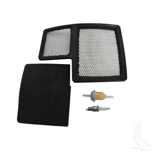 Tune Up Kit, Yamaha G16-Drive 4-cycle Gas spark plug air, gas line filter