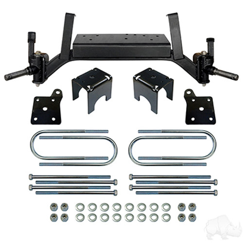 "RHOX Lift Kit, designed for 5"" Drop Axle, E-Z-Go TXT 01.5+"