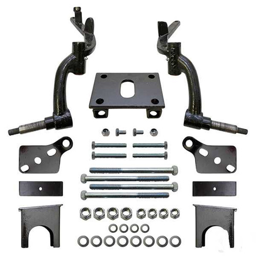 "RHOX Lift Kit, 6"" Club Car DS 09+, *Tie Rod Ends are female thread, silver aluminum"