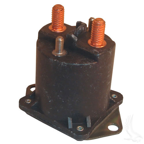 Solenoid, 48V 4 Terminal Copper, Club Car Electric 95-99