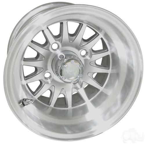 RHOX Phoenix, Machined w/ Center Cap, 10x7  Aluminum Wheels
