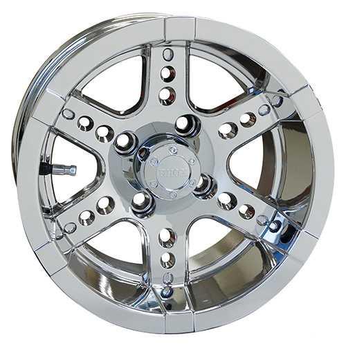 RHOX RX254 Chrome 12X7 Wheel