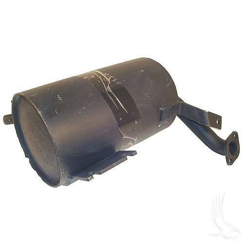 Muffler, E-Z-Go Medalist/TXT 4-cycle Gas 94+ direct replacement Part