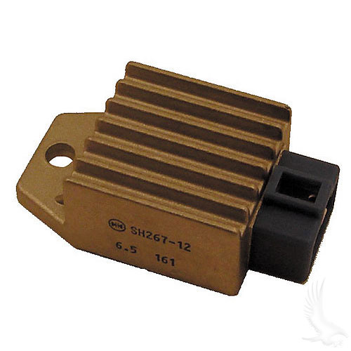 Voltage Regulator, Yamaha G8/G9/G14/G16/G20/G22 4-cycle Gas 90+