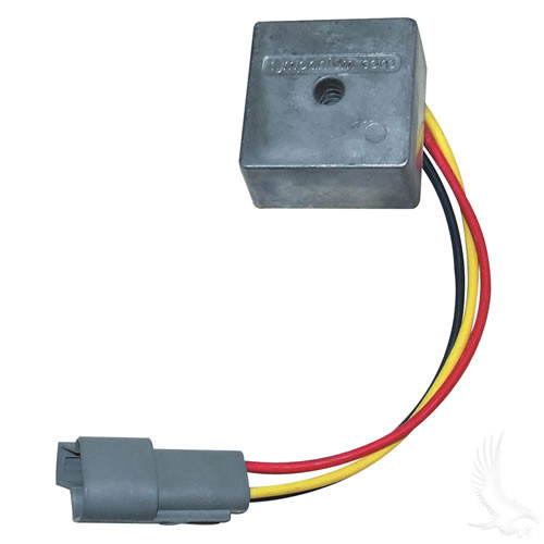 Voltage Regulator, Club Car Precedent Gas 04+ direct replacement OEM