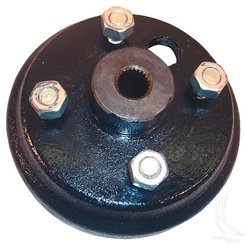 Brake Drum, E-Z-Go 2-cycle Gas & Electric 82+ Direct replacement