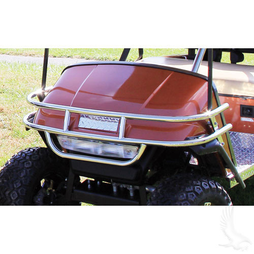 Brush Guard, Stainless Steel, E-Z-Go Medalist/TXT