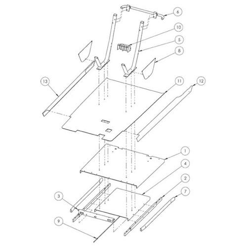 Madjax Stretch Kit for Club Car Precedent Parts Breakdown