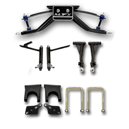 Madjax 6 inch A-Arm Lift Kit. Will fit Club Car DS Carts with Steel Dust Caps (Larger Spindle)