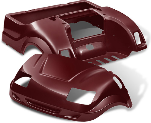 Yamaha Drive Vortex Body Kit in Burgundy