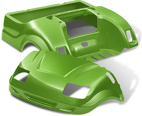 Yamaha Drive Vortex Body Kit in Lime Green