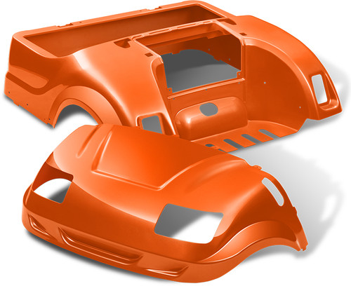 Yamaha Drive Vortex Body Kit in Orange
