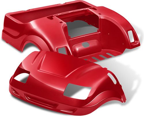 Yamaha Drive Vortex Body Kit in Red