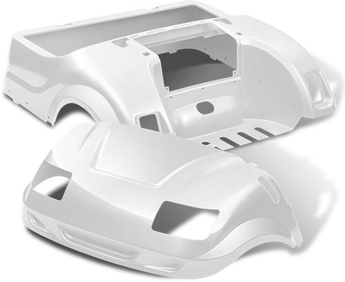 Yamaha Drive Vortex Body Kit in White