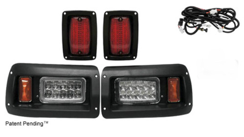 RHOX LED Plug and Play Headlight Taillight Package for Club Car DS
