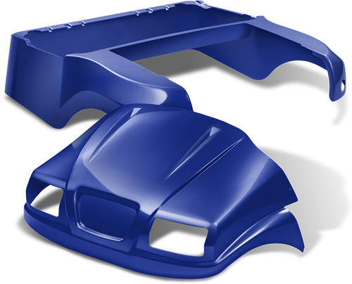 Doubletake Phantom Golf Cart Body Kit for Club Car Precedent in High Gloss Metallic Blue