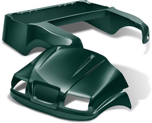 Doubletake Phantom Golf Cart Body Kit for Club Car Precedent in High Gloss Green