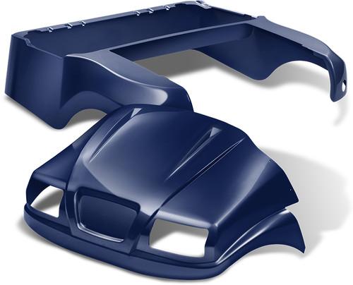 Doubletake Phantom Golf Cart Body Kit for Club Car Precedent in High Gloss Navy Blue