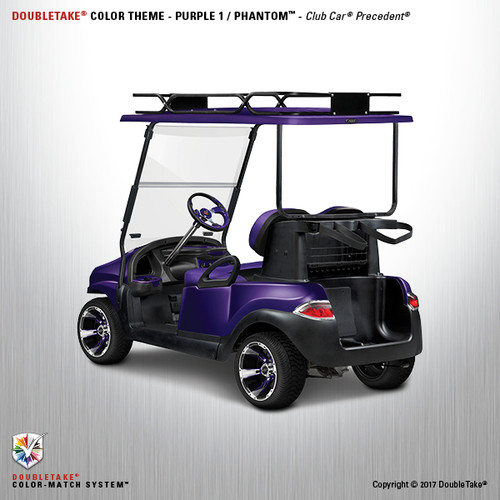 Doubletake Phantom Golf Cart Body Kit for Club Car Precedent in Purple