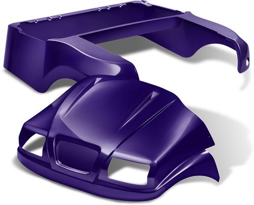 Doubletake Phantom Golf Cart Body Kit for Club Car Precedent in Purple