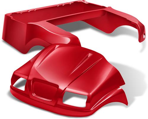 Doubletake Phantom Golf Cart Body Kit for Club Car Precedent in Red
