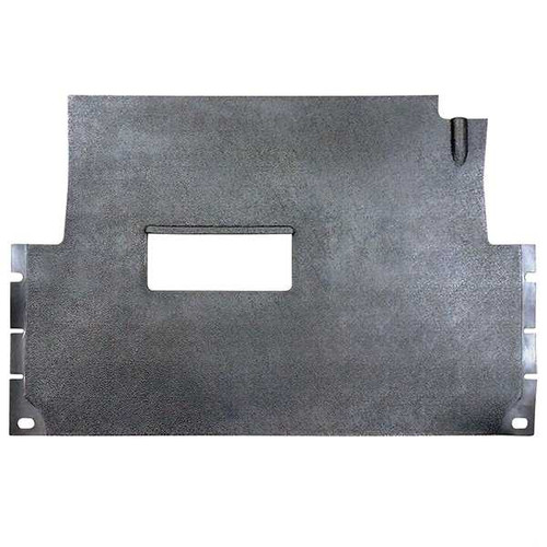 Club Car Precedent 08+ Black Stock Floor Mat direct replacement for OEM Mat
