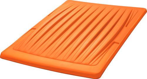 """DoubleTake 60"""" Short Track Color Matched Top Orange"""