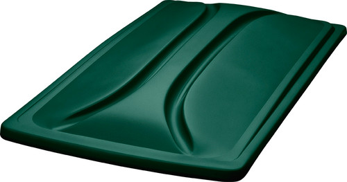 """DoubleTake 80"""" Long Track Color Matched Top Green"""