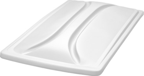 """DoubleTake 80"""" Long Track Color Matched Top White"""