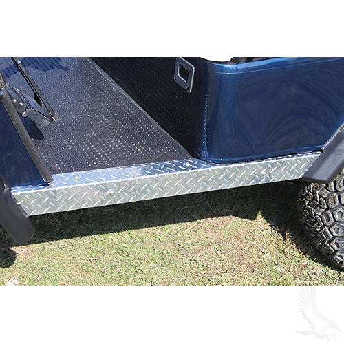 Diamond Plate Rocker Panel Set for EZ-GO TXT