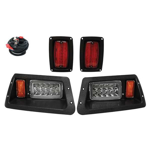 Super Bright LED Complete Adjustable Light Kit, Black, Yamaha G14-G22