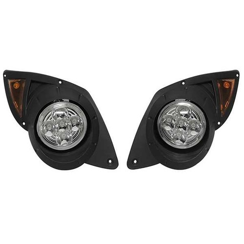 Super Bright LED Factory Style Headlights with Bezels, Yamaha Drive