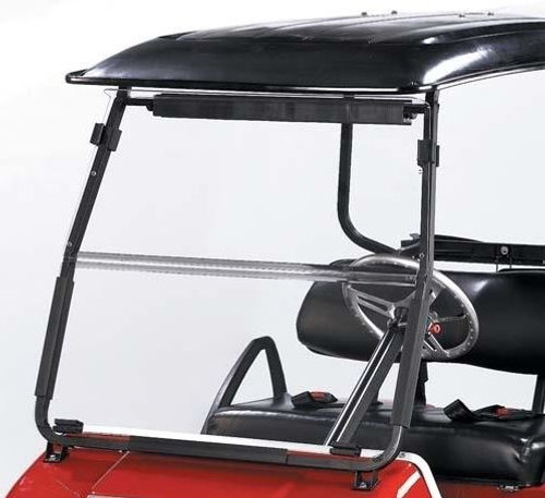Windshield, Clear 2 Piece, Club Car New Style 2000+