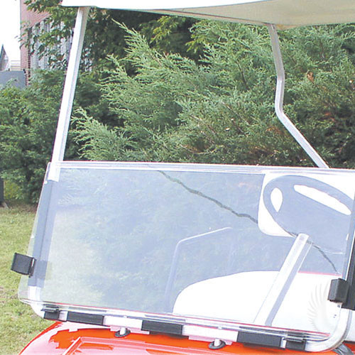 Windshield, Clear 2 Piece, Club Car Precedent
