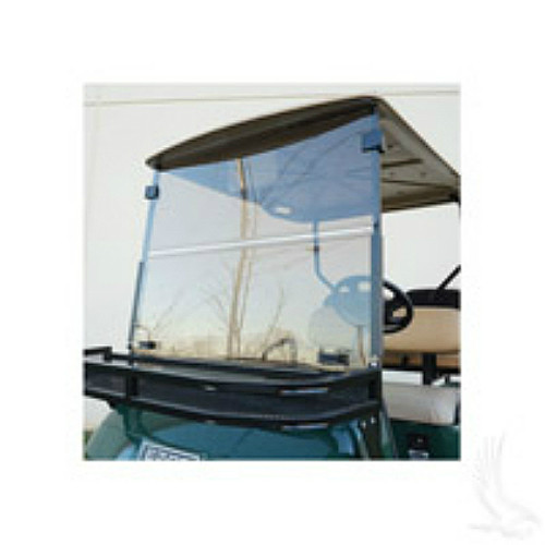 Windshield, Heavy Duty Impact Resistant Clear 2 Piece, Club Car 84-99