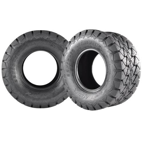 22x10x10 Timberwolf All-Terrain Tire , smooth ride 50% quieter than standard AT type tread design