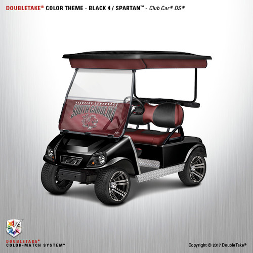 NEW Club Car DS Spartan Golf Cart Body Kit in Black