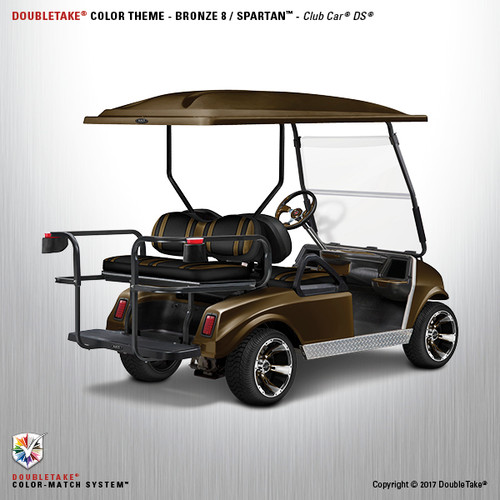 NEW Club Car DS Spartan Golf Cart Body Kit in Bronze