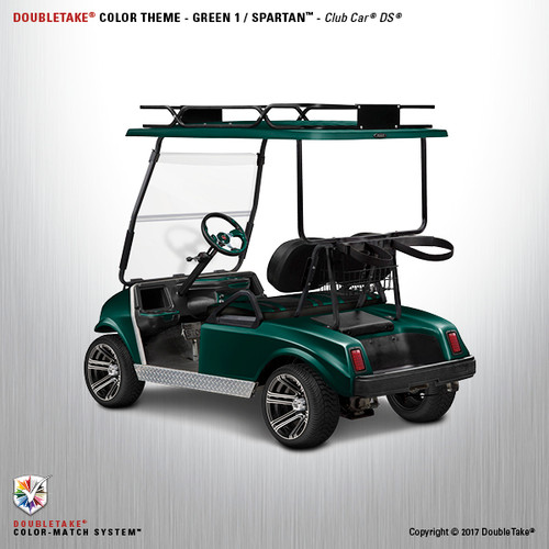 NEW Club Car DS Spartan Golf Cart Body Kit in Green