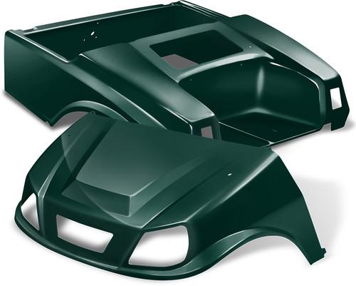 Club Car DS Spartan Golf Cart Body Kit in Green