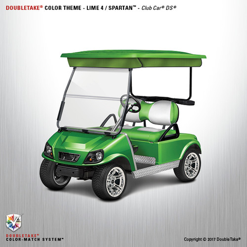 NEW Club Car DS Spartan Golf Cart Body Kit in Lime Green