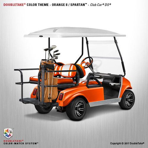 NEW Club Car DS Spartan Golf Cart Body Kit in Orange