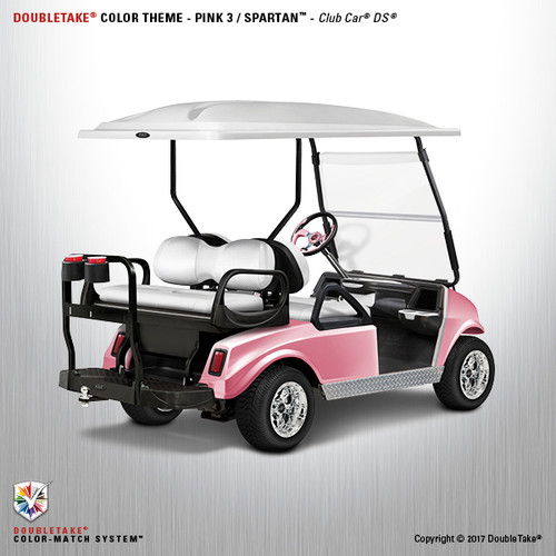 NEW Club Car DS Spartan Golf Cart  Body Kit in Pink