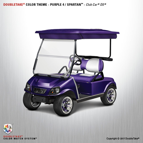 NEW Club Car DS Spartan Golf Cart Body Kit in Purple