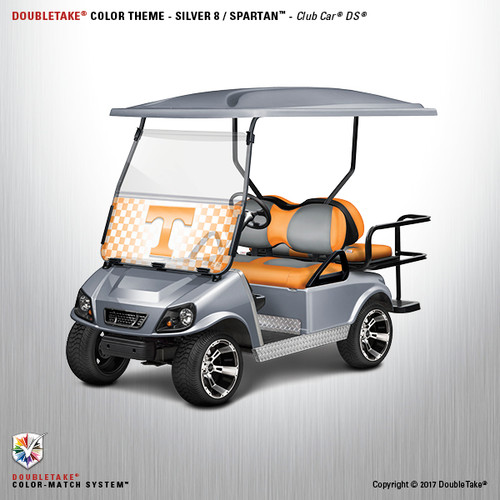 NEW Club Car DS Spartan Golf Cart Body Kit  in Silver