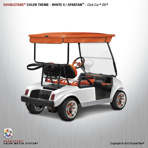 NEW Club Car DS Spartan Golf Cart Body Kit in White