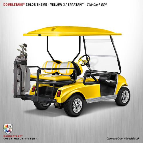 NEW Club Car DS Spartan Body in Yellow