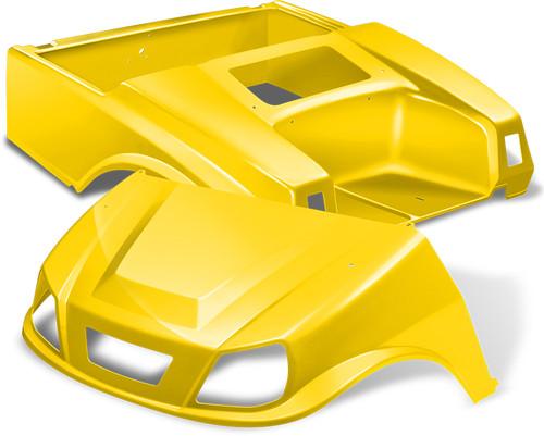 Club Car DS Spartan Body in Yellow